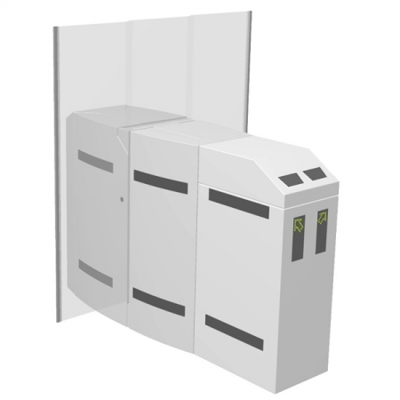 Flap Barrier Type PNG 391 Twin