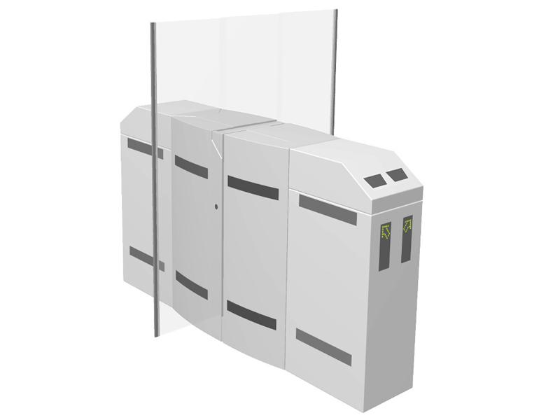 Flap Barrier Model PNG 392 Twin